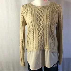 Monteau sweater blouse in one